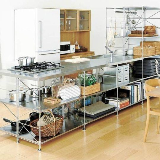 The Durable and Consistent Steel Shelving Unit