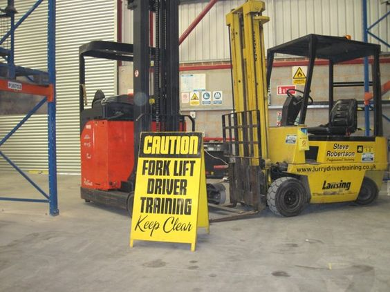 Getting Forklift Training