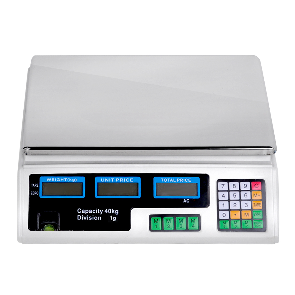 Kinds of Commercial Food Scales and How to Use Them